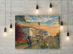 east end park  going to the match canvas a2 size (3)